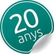 Logo 20è Aniversari R&V al 2013