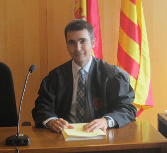 Sala de vistas del Juzgado de Familia de Girona