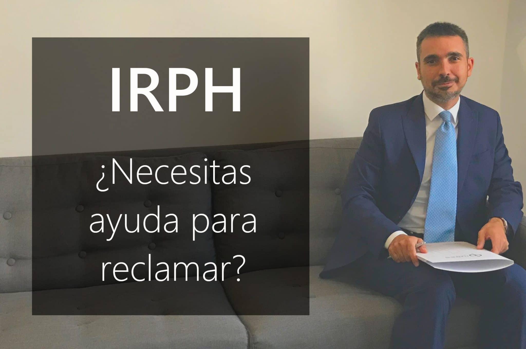 ¿ Como Reclamar El IRPH?